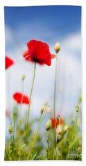 Poppy Flowers 06 Hand Towel