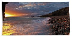 Porth Swtan Cove Bath Towel
