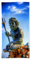 Poseidon Bath Towel by Dan Stone