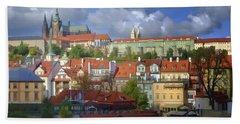 Prague Dreams Bath Towel