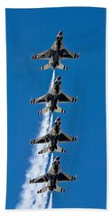 Hand Towel featuring the photograph Precision by Dan Wells