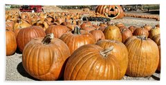 Pumpkin Patch 3 Hand Towel