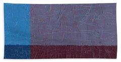 Purple And Blue Bath Towel