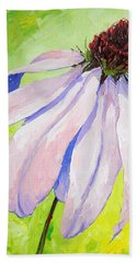 Purple Coneflower Bath Towel