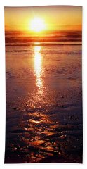 Purple Sunset Bath Towel