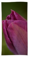Purple Tulip Hand Towel
