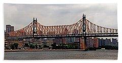 Queensboro Bridge Hand Towel
