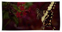 Radiant Swallowtail Hand Towel