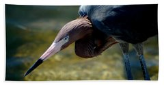 Reddish Egret 2 Bath Towel