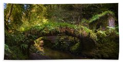 Reelig Bridge And Grotto Bath Towel