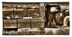 Retired Truck Bath Towel