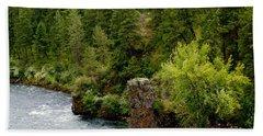 Rockin The Spokane River Hand Towel