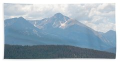 Rocky Mountain High Bath Towel by Randy J Heath