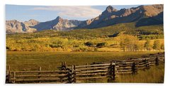 Rocky Mountain Ranch Bath Towel