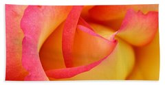Rose 3 Hand Towel by Mark Gilman
