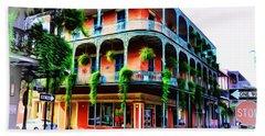 Royal Street - New Orleans Bath Towel