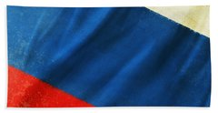 Russia Flag Hand Towel