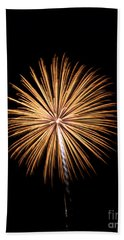 Bath Towel featuring the photograph Rvr Fireworks 27 by Mark Dodd
