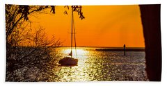 Hand Towel featuring the photograph Sail Away by Shannon Harrington