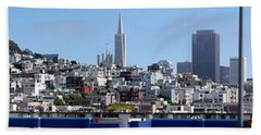 San Francisco Panorama Hand Towel