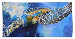 Save The Turtles Hand Towel