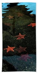 Seastars Bath Towel by Karen Harrison