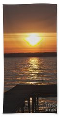 Hand Towel featuring the photograph Seneca Lake by William Norton