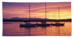 Serene Sunset Hand Towel