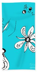 Serenity In Blue Hand Towel