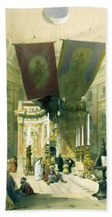 Shrine Of The Holy Sepulchre April 10th 1839 Hand Towel