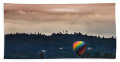 Snohomish Baloon Ride Bath Towel by Charlie Duncan