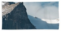 Hand Towel featuring the photograph Snowy Flatirons by Colleen Coccia