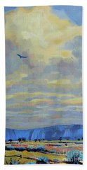 Soaring Hand Towel by Donald Maier