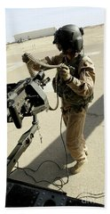 Soldier Carries 7.62 Mm Rounds Bath Towel