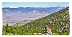 Solitude With A View - Carson City Nevada Hand Towel