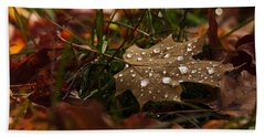 Hand Towel featuring the photograph Sparkling Gems by Cheryl Baxter