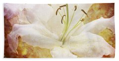 Sparkling Lily Hand Towel