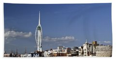 Spinnaker Tower And Round Tower Portsmouth Bath Towel