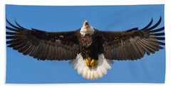 Bath Towel featuring the photograph Spread Eagle by Randall Branham