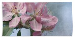 Spring Blossoms For The Cure Bath Towel