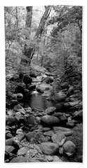 Hand Towel featuring the photograph Spring Creek by Kathleen Grace