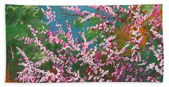 Springs Blossoms  Hand Towel by Dan Whittemore
