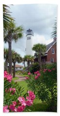 St. George Island Lighthouse Bath Towel