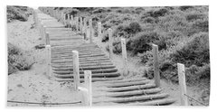 Stairs At Baker Beach Hand Towel