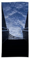 Hand Towel featuring the photograph Stairway To Heaven by Joel Witmeyer