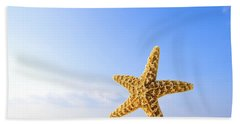 Starfish In Front Of The Ocean Hand Towel
