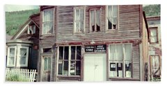 Hand Towel featuring the photograph Stark Bros Store by Bonfire Photography