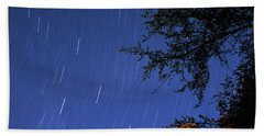 Hand Towel featuring the photograph Stars Falling by Kay Lovingood
