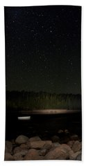Stars Over Otter Cove Bath Towel by Brent L Ander