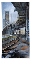 Steel Bridge 2012 Hand Towel